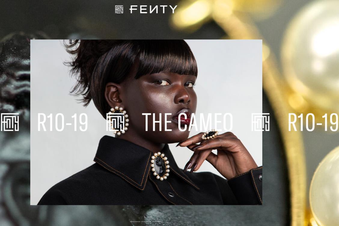 赋能少数族裔女性,LVMH 集团与蕾哈娜联手打造的 Fenty 品牌推出浮雕珠宝系列
