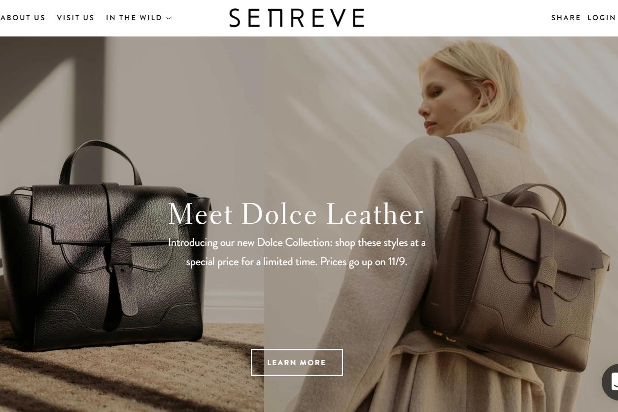 两位华人女性创办的互联网高端皮具品牌 Senreve 获1675万美元A轮融资