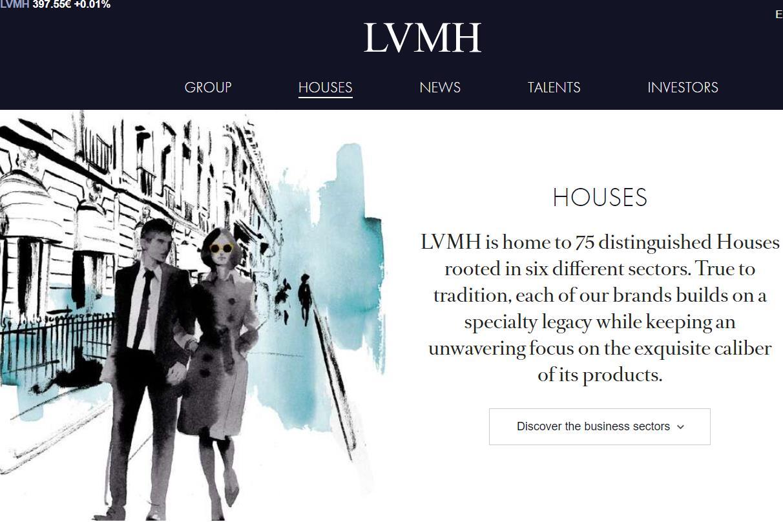 LVMH 集团市值突破 2000亿欧元大关,成为市值最高的法国上市企业