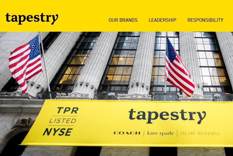 Tapestry集团最新财报:Coach同店销售连续8个季度增长,中国与欧洲市场业绩优秀
