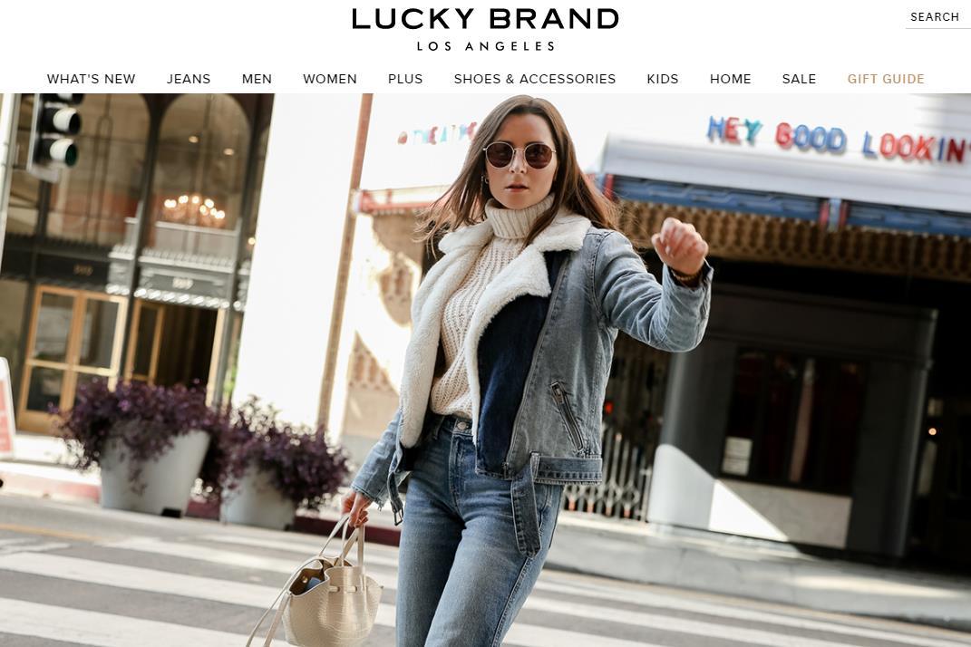 以复古牛仔裤闻名的美国时尚品牌 Lucky Brand 完成新一轮再融资,引入新股东