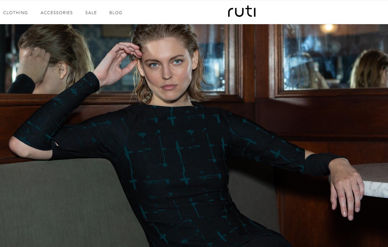 人工智能驱动的女装品牌 Ruti 完成600万美元A轮融资