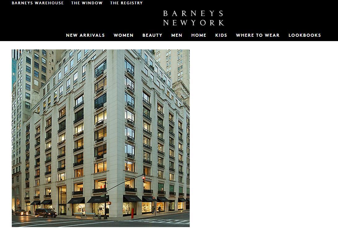 被ABG收购后,美国奢侈品百货 Barneys 麦迪逊大道旗舰店将以快闪店形式再营业一年