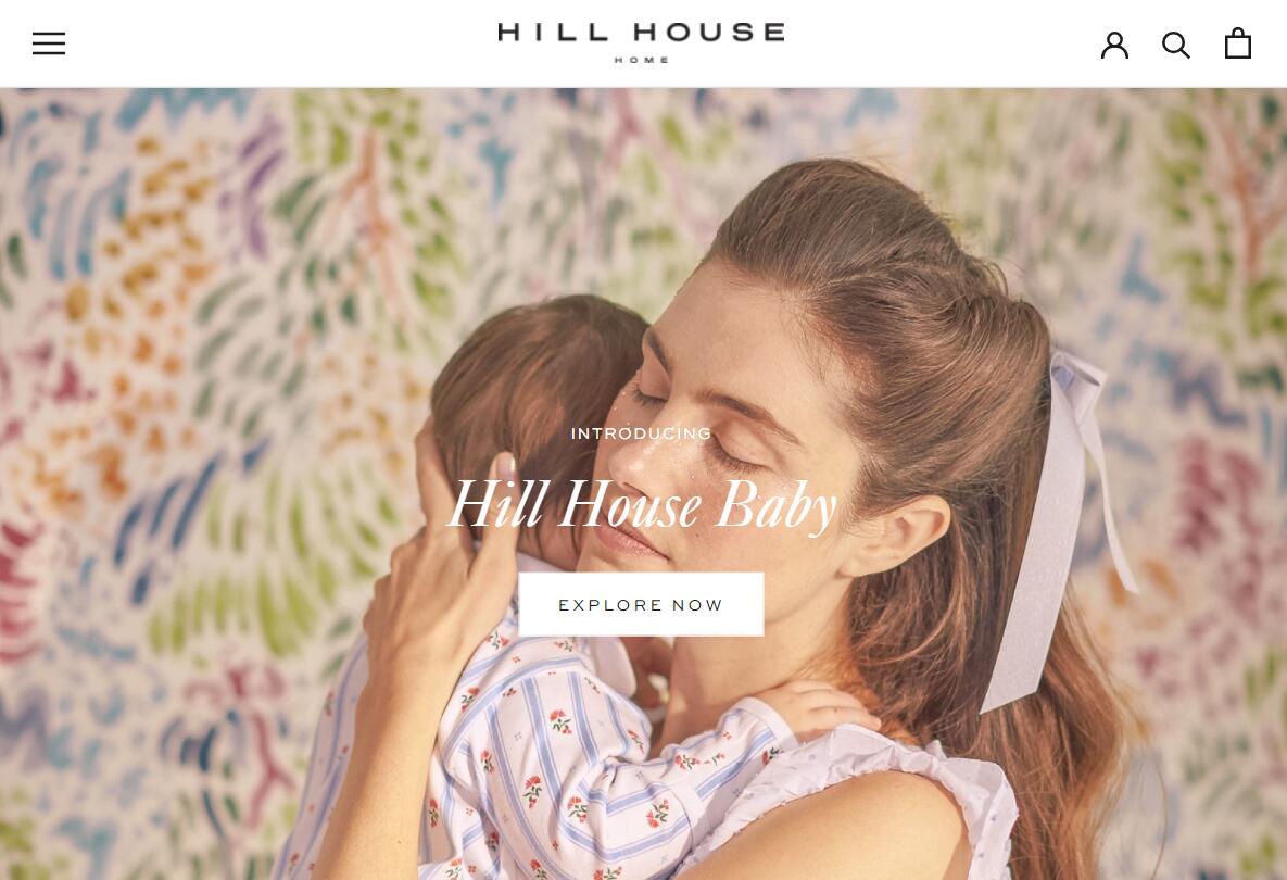 从床品延伸到婴儿用品,互联网直销品牌 Hill House Home 完成150万美元首轮融资