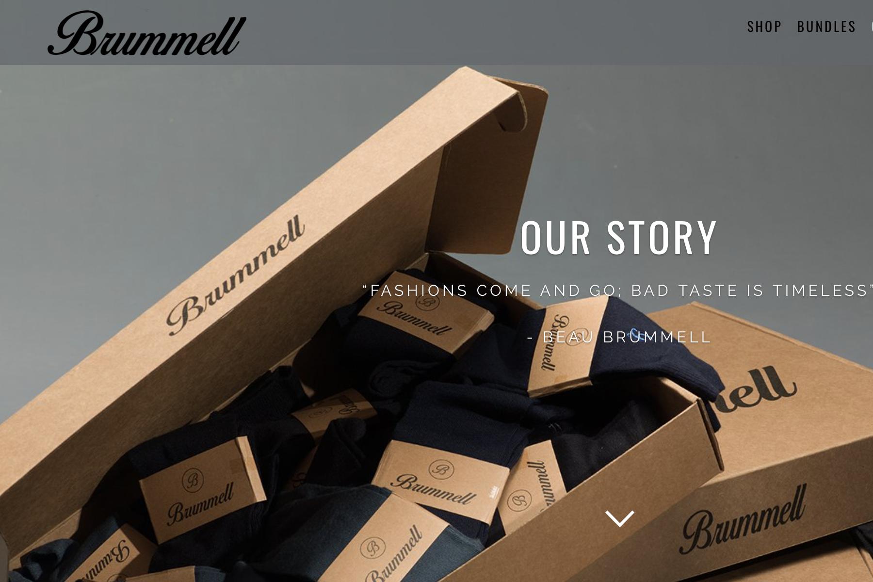 从解决男士换袜子的痛点入手!按期订购式男装初创品牌 Brummell 完成50万美元种子轮融资