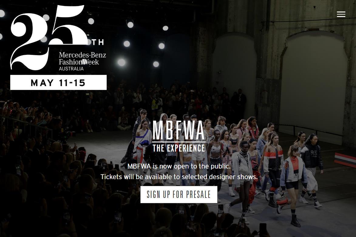 秀场门票 567元人民币起,澳大利亚时装周首次向公众开放