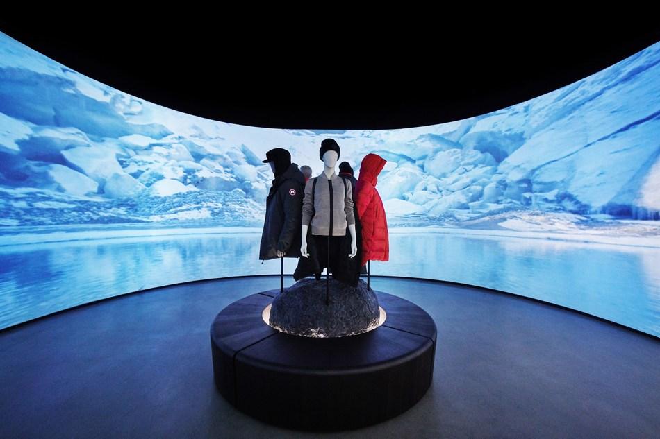"""加拿大鹅推出全新""""零库存"""" 概念店,打造互动式、沉浸式的购物体验"""