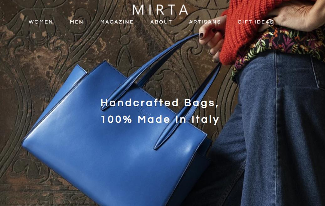 """跳过中介直面消费者,""""意大利制造""""皮革工匠平台 Mirta  助力意大利手工艺匠人走向世界"""