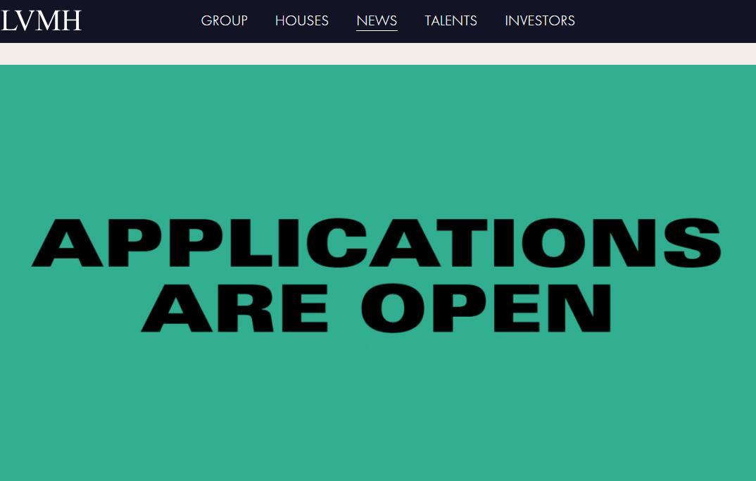 第七届 LVMHPrize 青年设计师大奖赛开放申请,明年2月2日截止