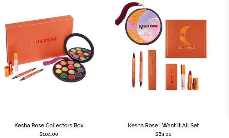 美国女歌手 Kesha 推出纯素美妆系列 Kesha Rose Beauty