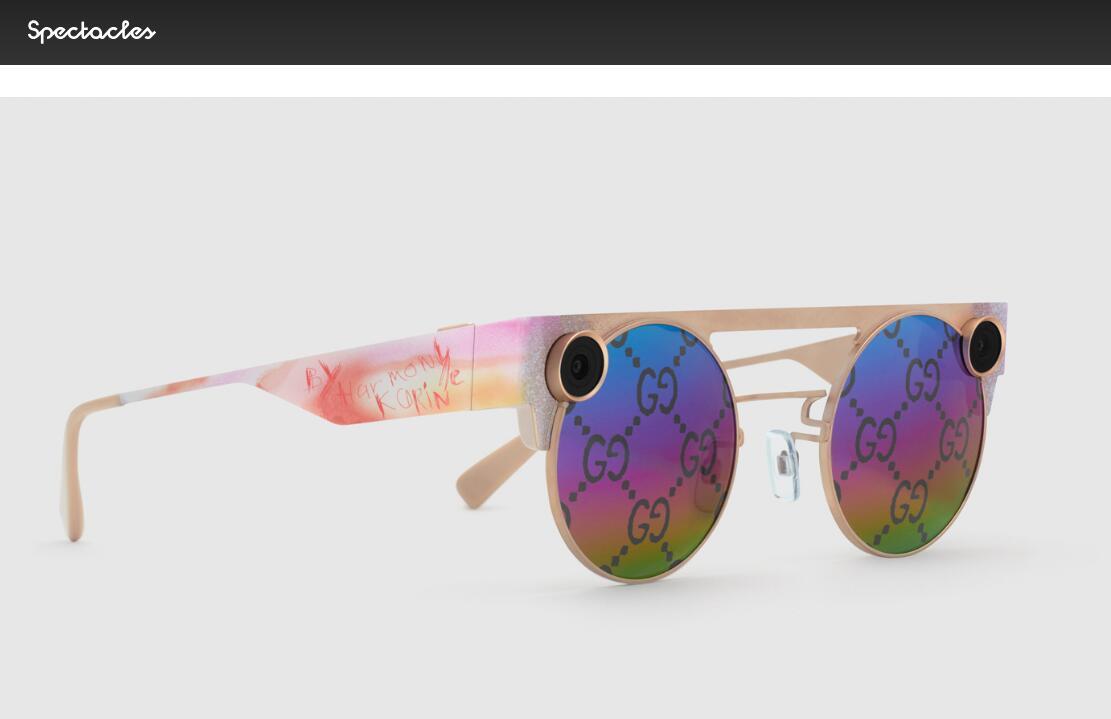 用太阳镜拍3D视频!Snapchat 推出最新智能眼镜,并与 Gucci合作推出限量版本