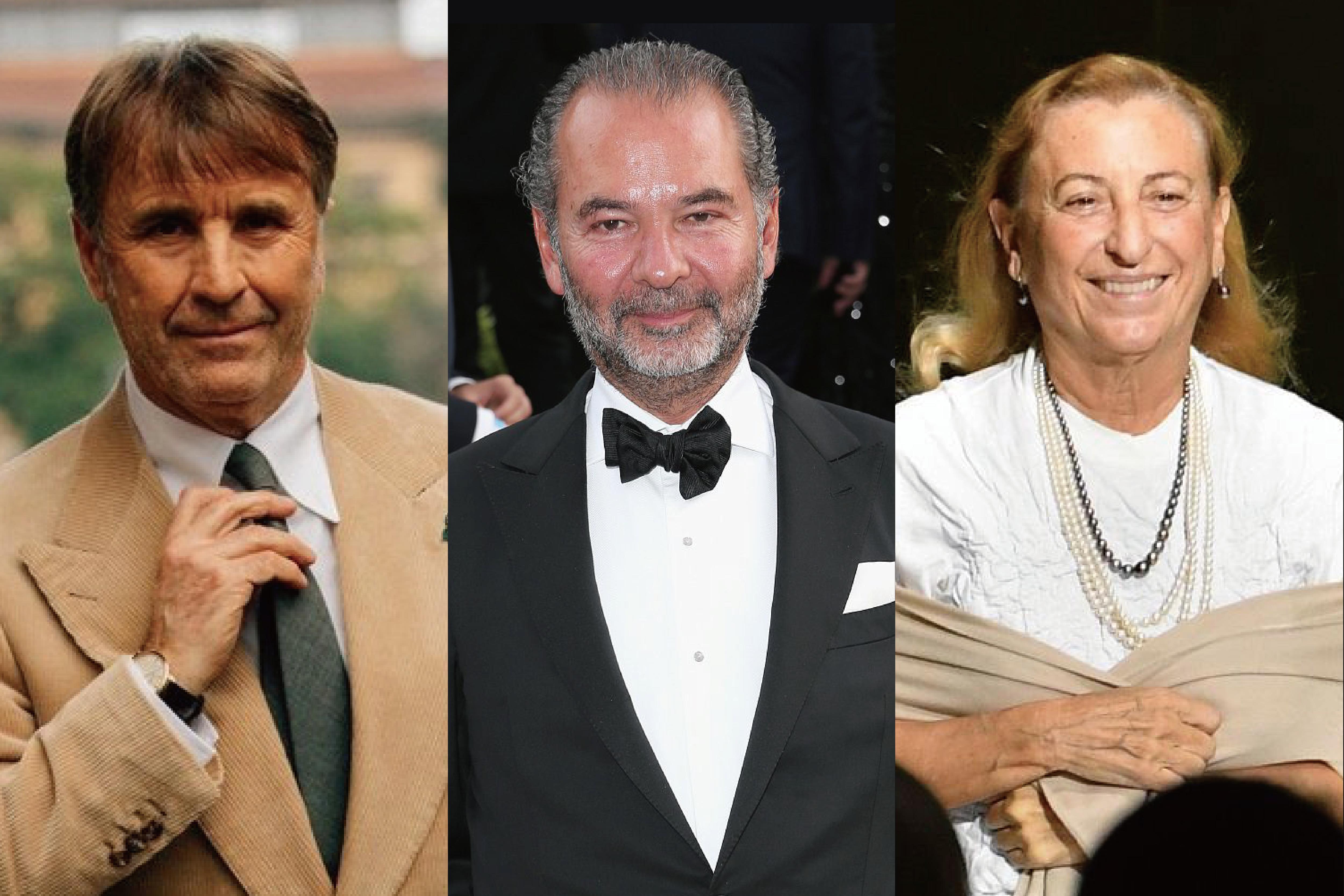 谁是最得人心的意大利时尚企业家:Brunello Cucinelli,Moncler 和 Prada 的掌门人高居前三
