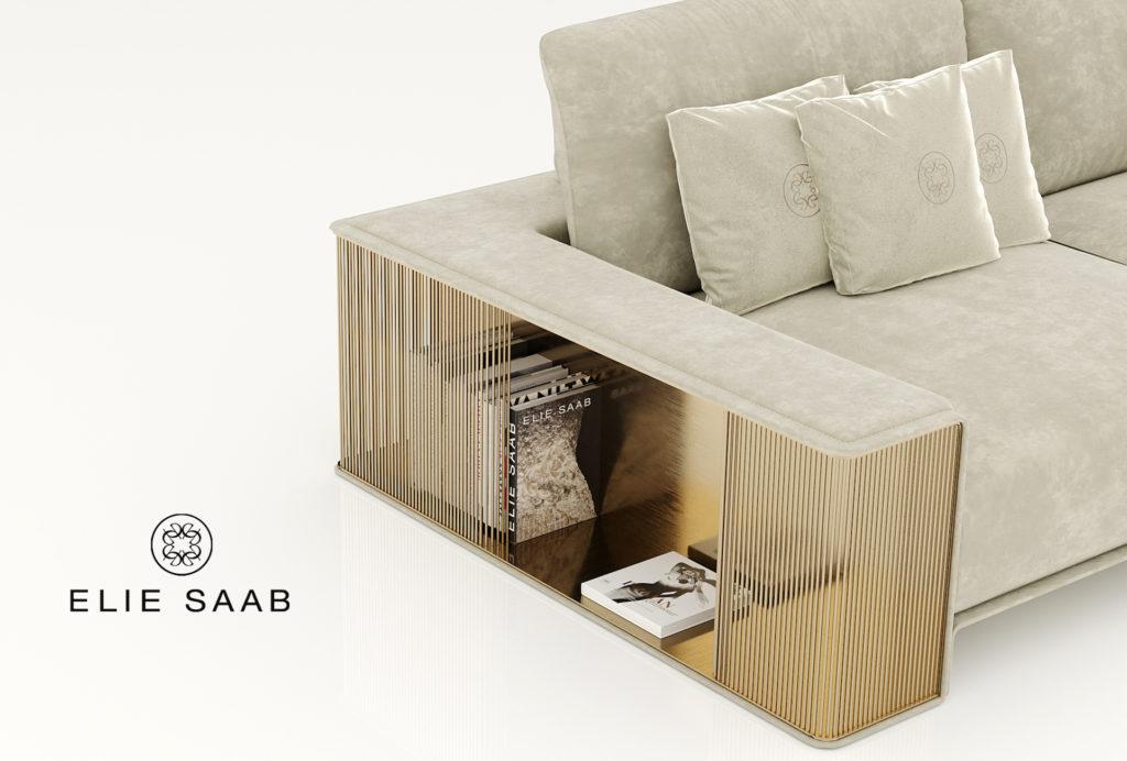 Elie Saab 进军家居领域,与一家瑞士设计公司达成授权合作
