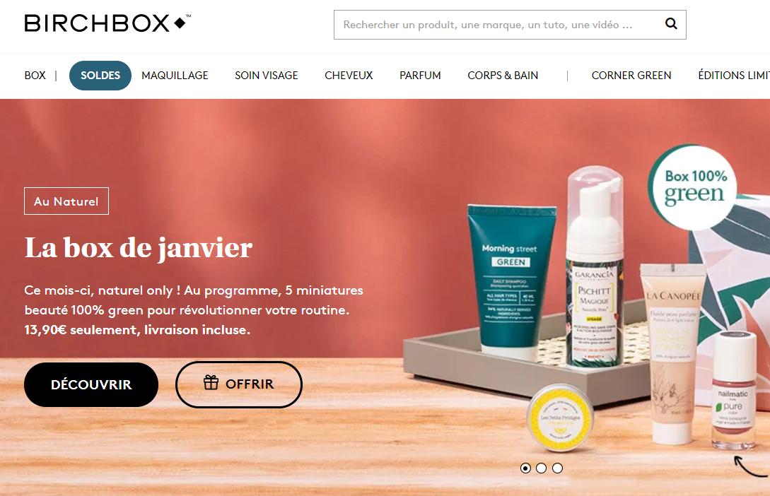 按月订购美妆电商 Birchbox 的法国分公司分拆独立