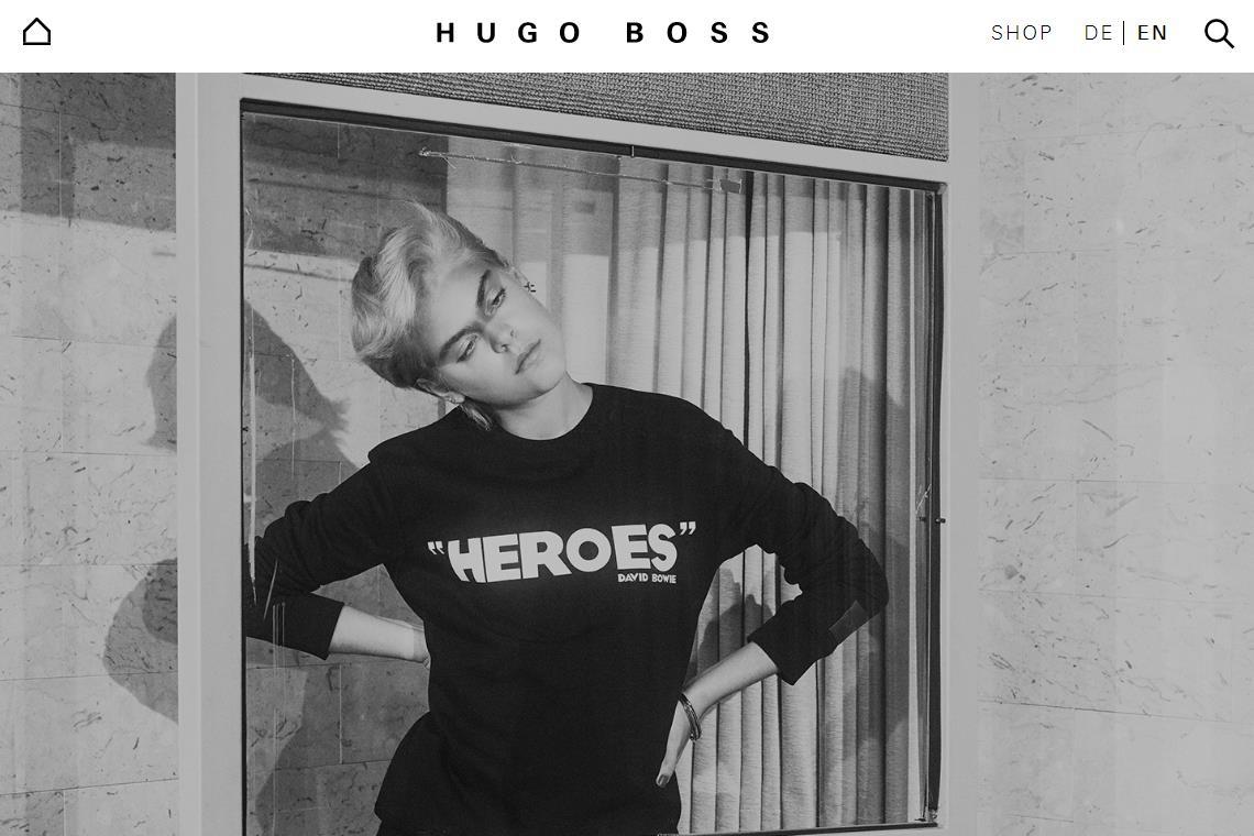 Hugo Boss最新季报:中国大陆持续两位数增长,线上渠道销售大增52%