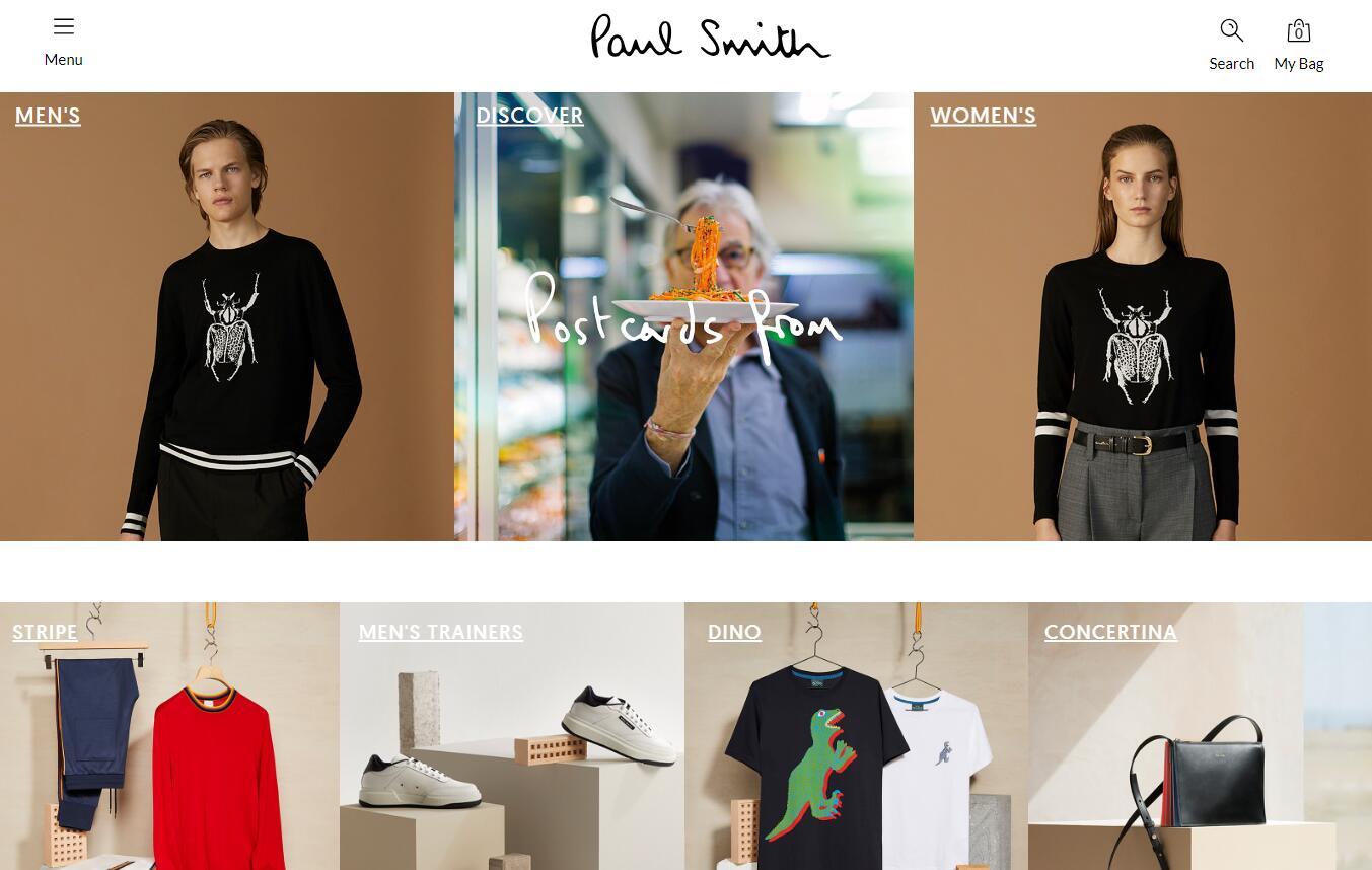 年过70的创始人回归,英国设计师品牌Paul Smith业绩恢复增长,利润接近翻番