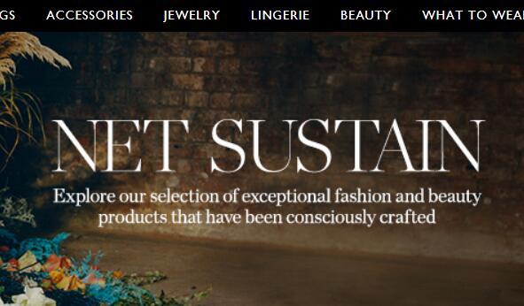 奢侈品电商 Net-A-Porter的可持续项目新增72个品牌,并拓展至美容领域