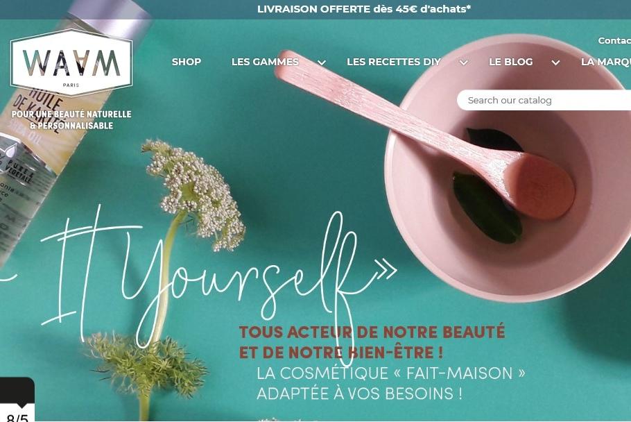 让消费者创造适合自己的配方,法国天然美妆品牌 WAAM 获首轮融资150万欧元