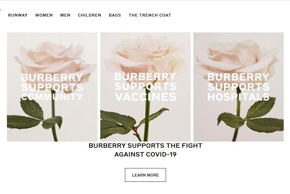 Burberry 资助牛津大学的疫苗研究,本土风衣工厂转产口罩和防护服