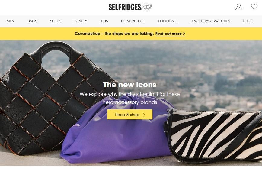 疫情之下,英国时尚零售商  Selfridges、Browns、Harrods 闭店或缩短营业时间