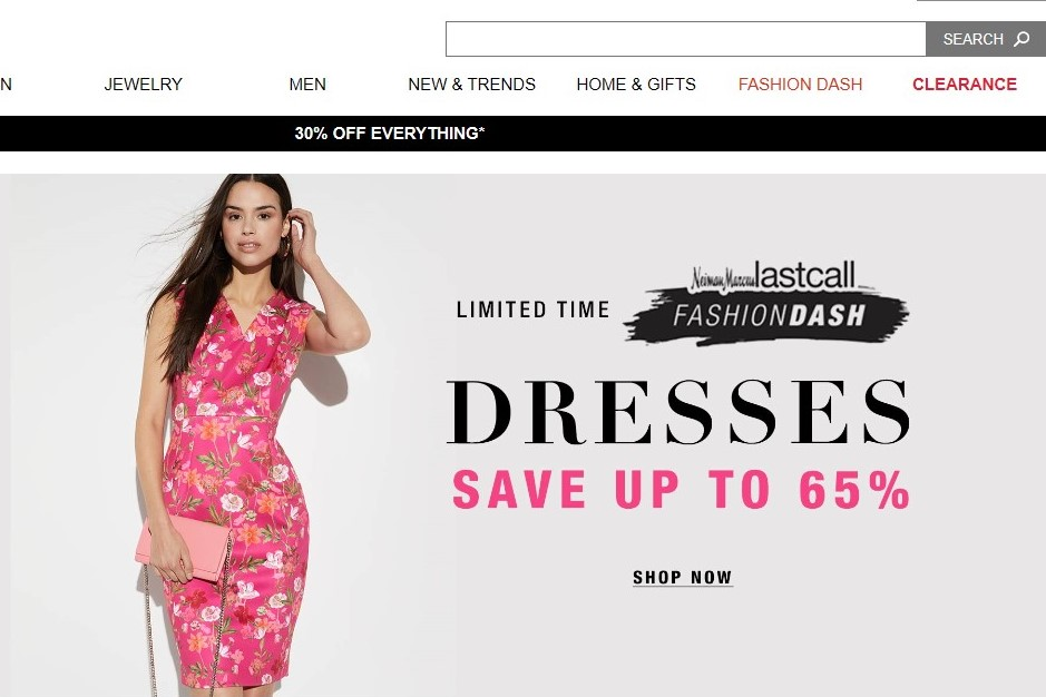 "Neiman Marcus 精简业务,2021年前将关闭大部分""Last Call""折扣门店"