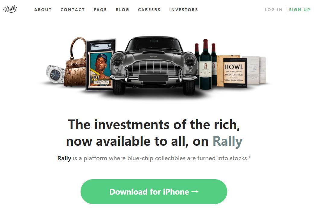 """127美元就能成为兰博基尼超跑的""""主人""""!Rally Rd. 为古董车和奢侈品发行""""IPO"""""""