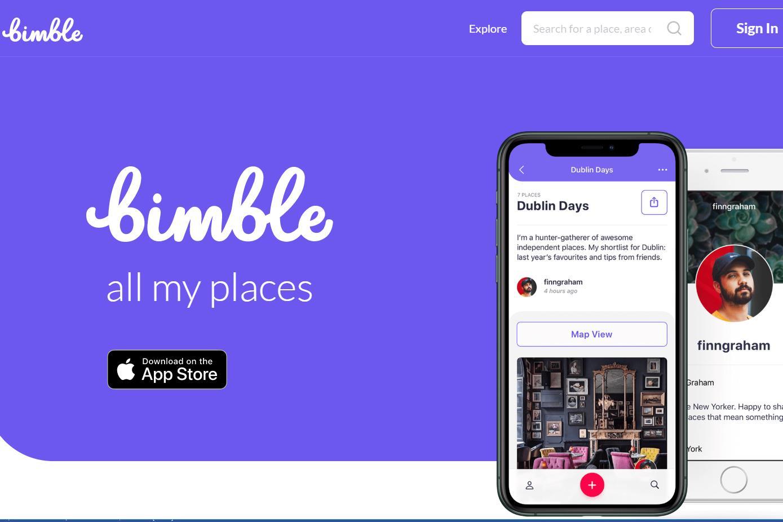 像使用音乐 APP 一样创建旅行清单:英国旅行社交平台 Bimble 完成 140万欧元天使轮融资