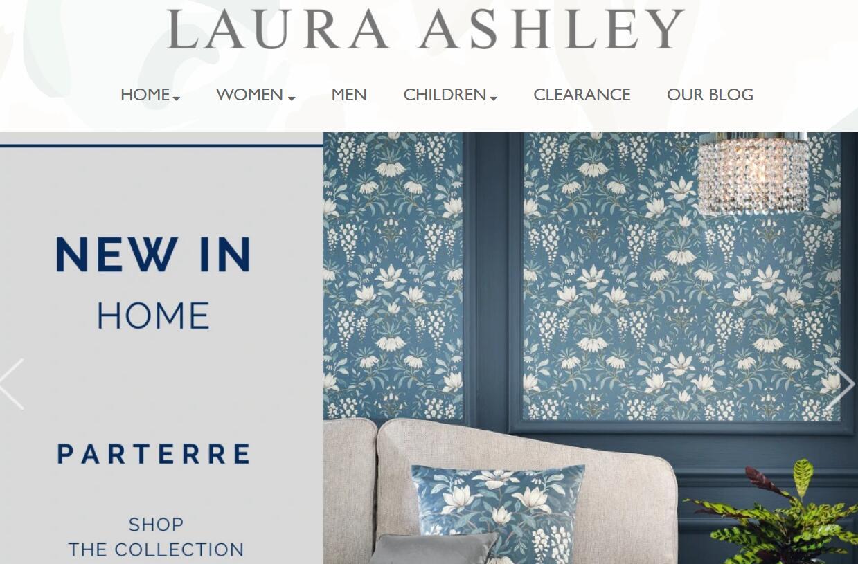 疫情致股价大跌64%,英国老牌时尚家居零售商 Laura Ashley 将启动破产流程