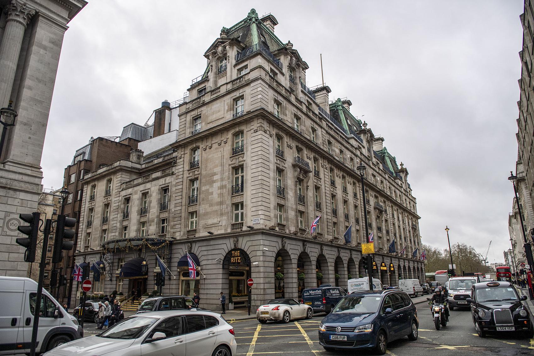 伦敦丽兹酒店百年史上首次闭店,所有权被转手给被卡塔尔前王妃
