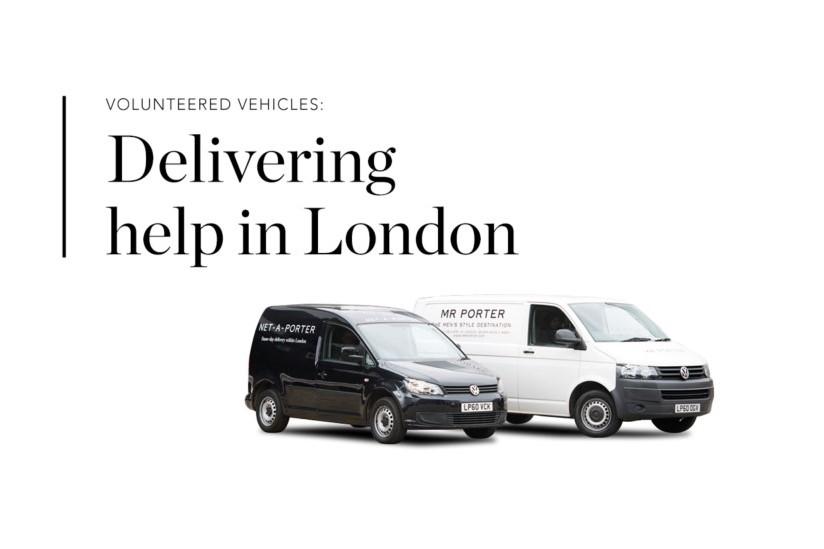 欧洲奢侈品电商 YNAP 向伦敦慈善机构提供志愿车队,支援疫情期间的物资流通