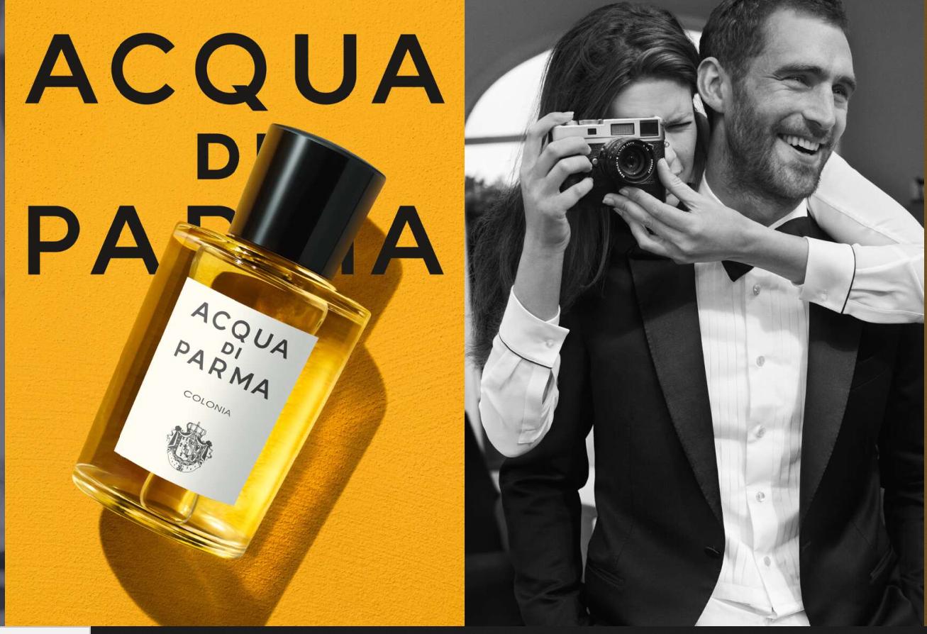 意大利香氛品牌 Acqua di Parma将部分销售利润捐赠给伦巴第大区