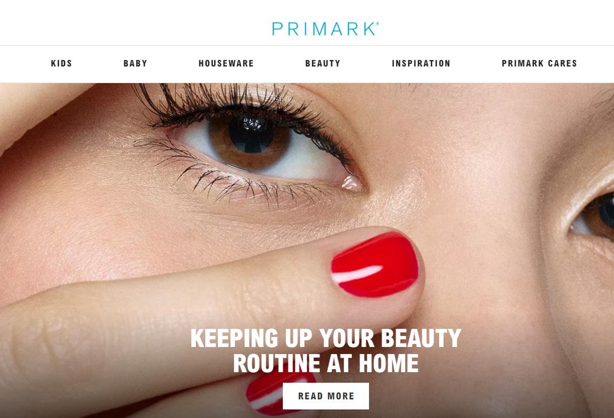 英国快时尚巨头 Primark 承诺继续支付价值3.7亿英镑的服装订单