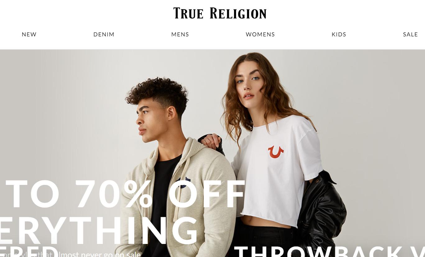 疫情之下,美国高端牛仔品牌 True Religion 三年内第二次申请破产保护