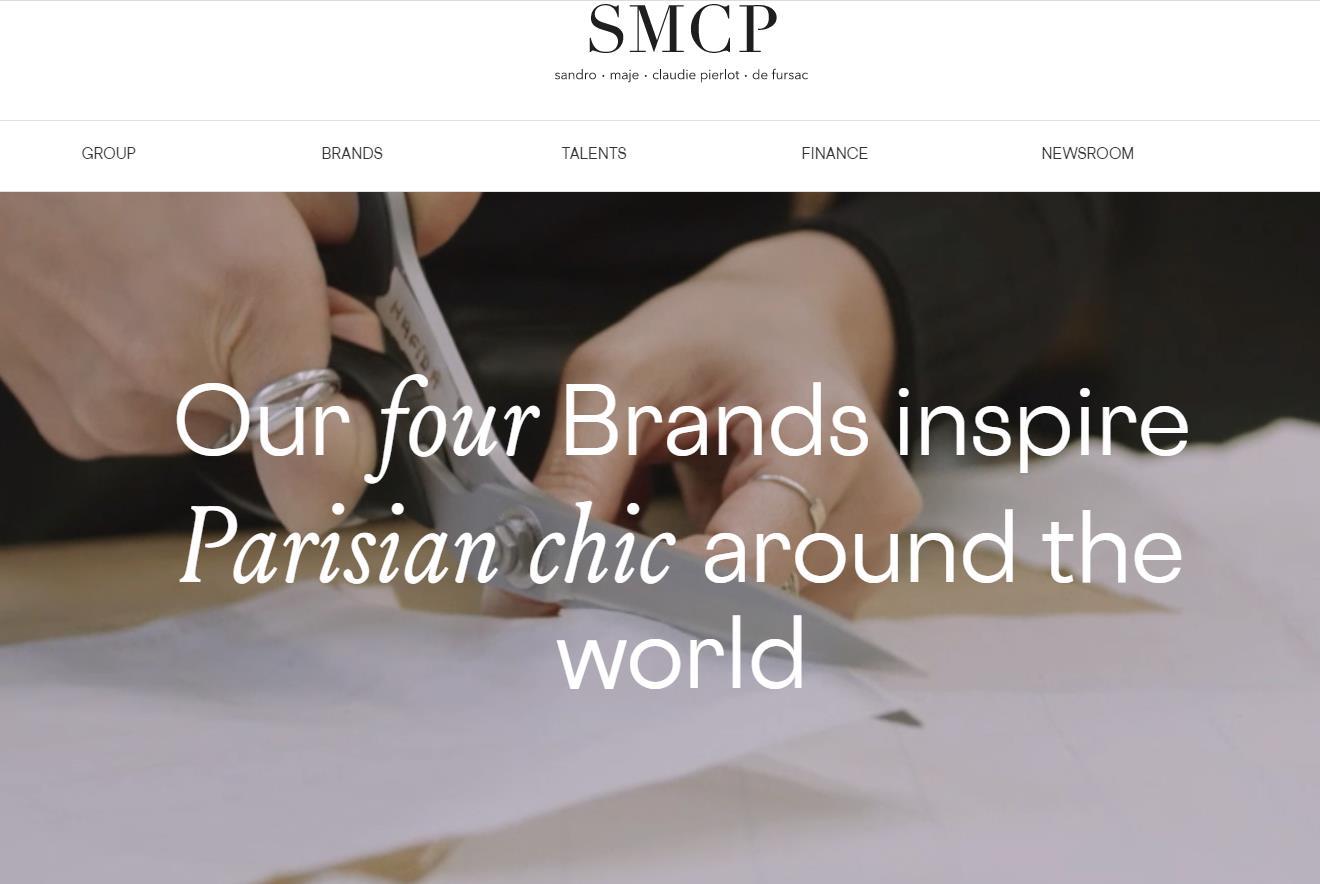 法国时尚集团 SMCP 最新季报:疫情致销售额下滑 16.7%,中国市场回暖带来更多信心
