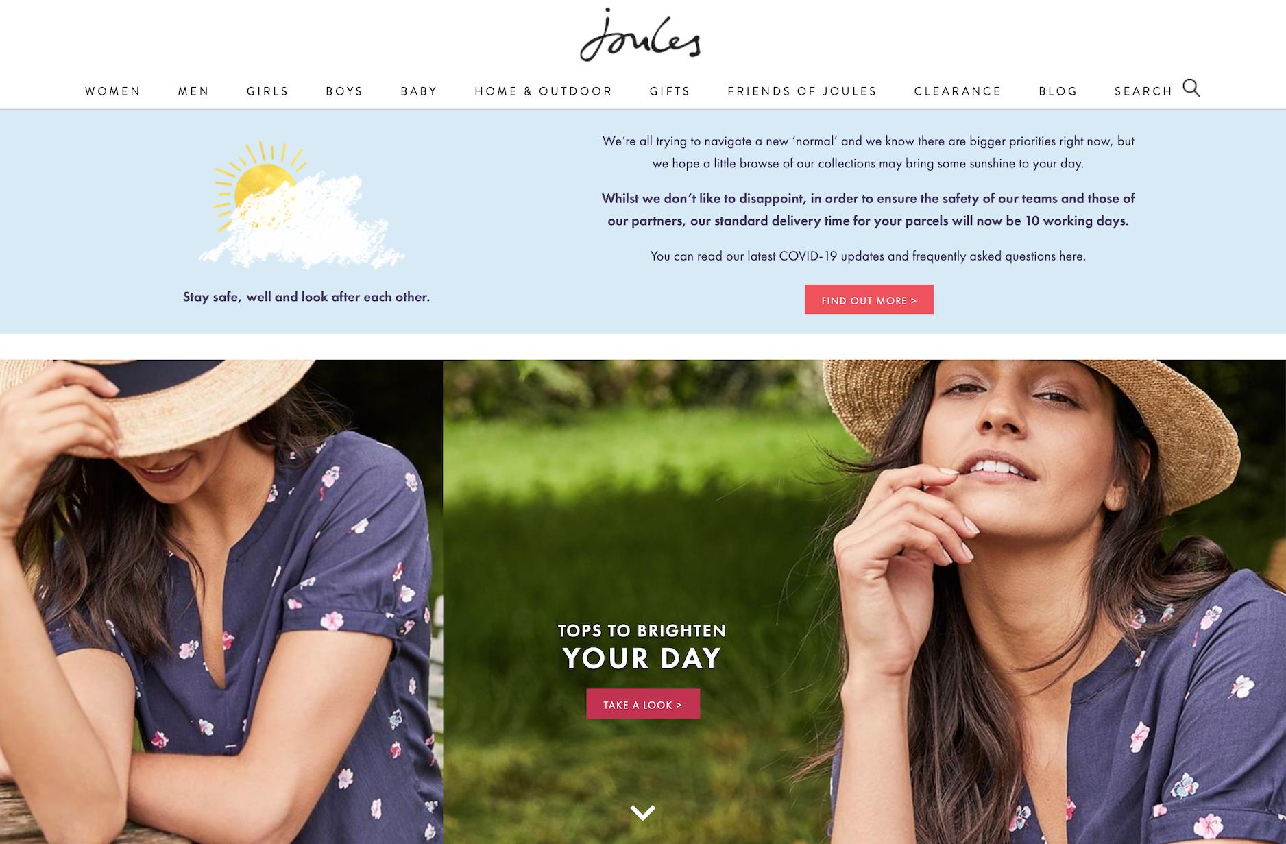 英国生活方式零售商Joules 成功完成1500万英镑增资扩股