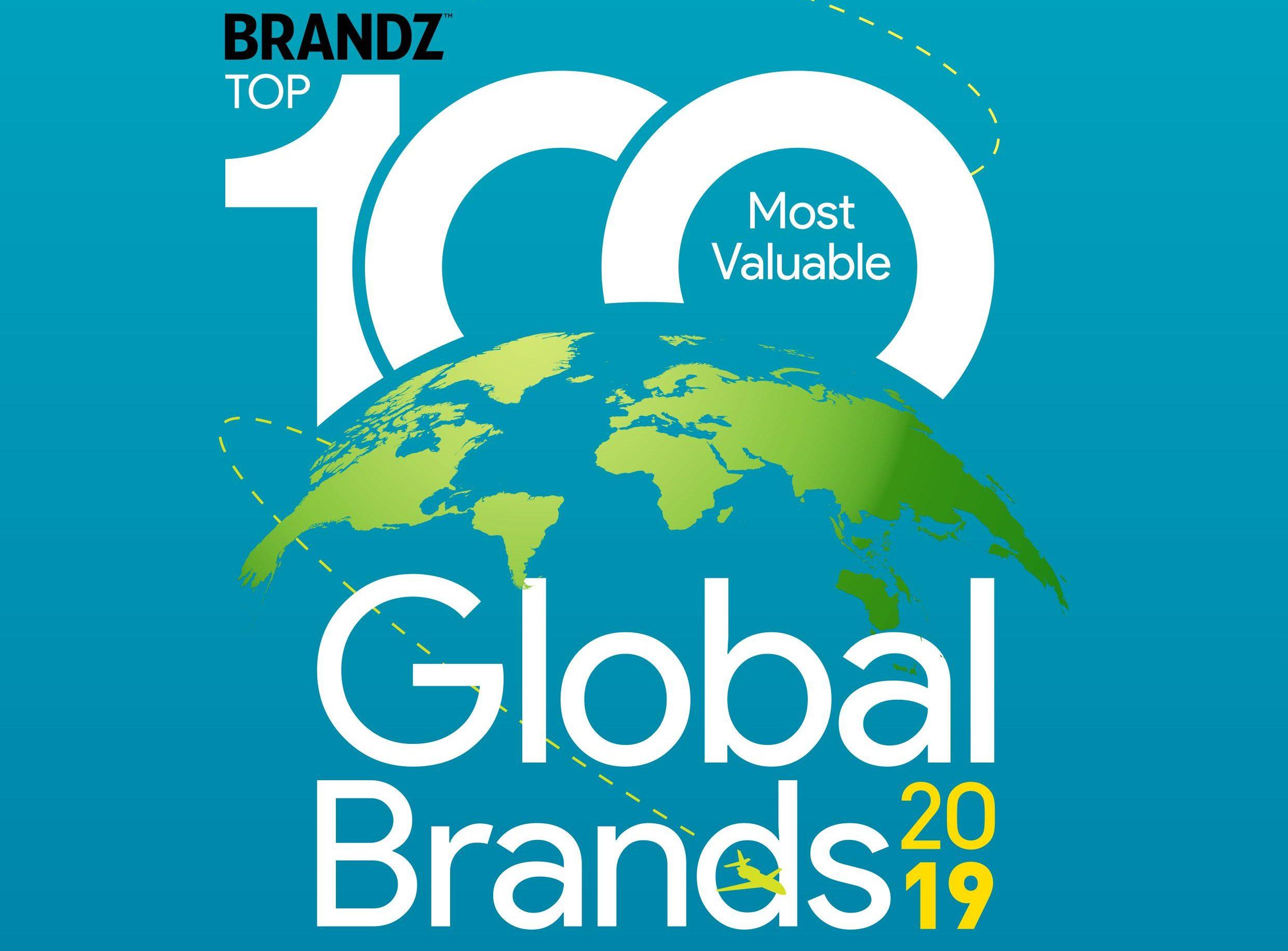"""2019年 BrandZ全球百大品牌榜:奢侈品品牌价值增长最快,个人护理类开始""""苏醒"""""""