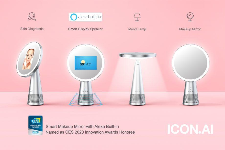 2020年CES国际消费电子展推出多个黑科技美容工具