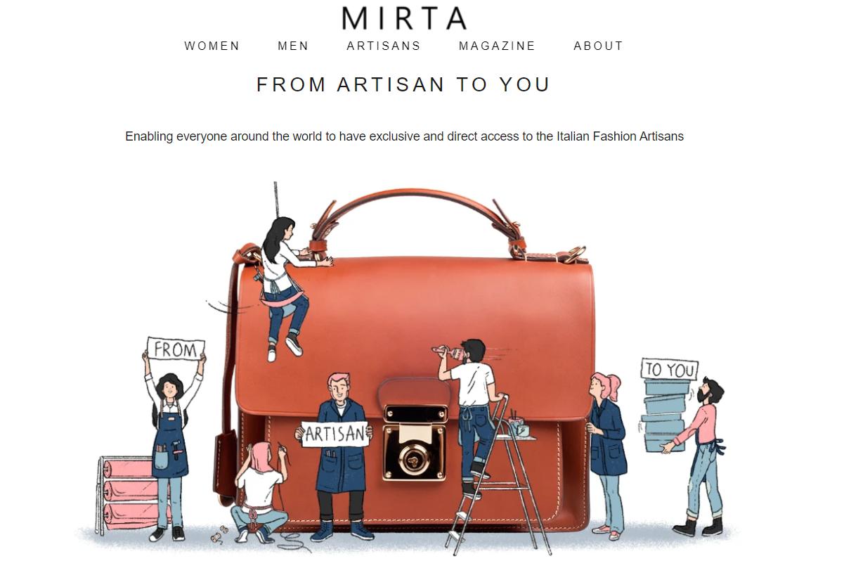 意大利手袋交易平台 Mirta 在疫情期间飞速发展,获250万欧元融资
