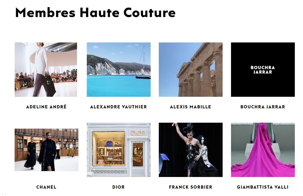 巴黎高定时装周创立以来将首次通过线上形式举办