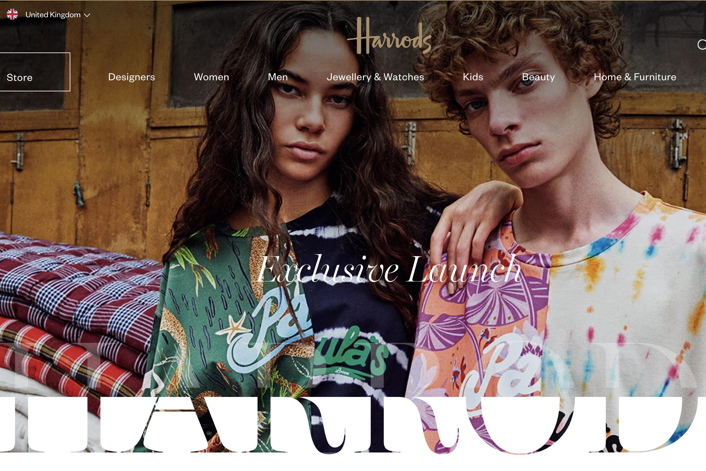 英国奢侈品百货 Harrods 为VIP 客户提供一对一远程购物服务
