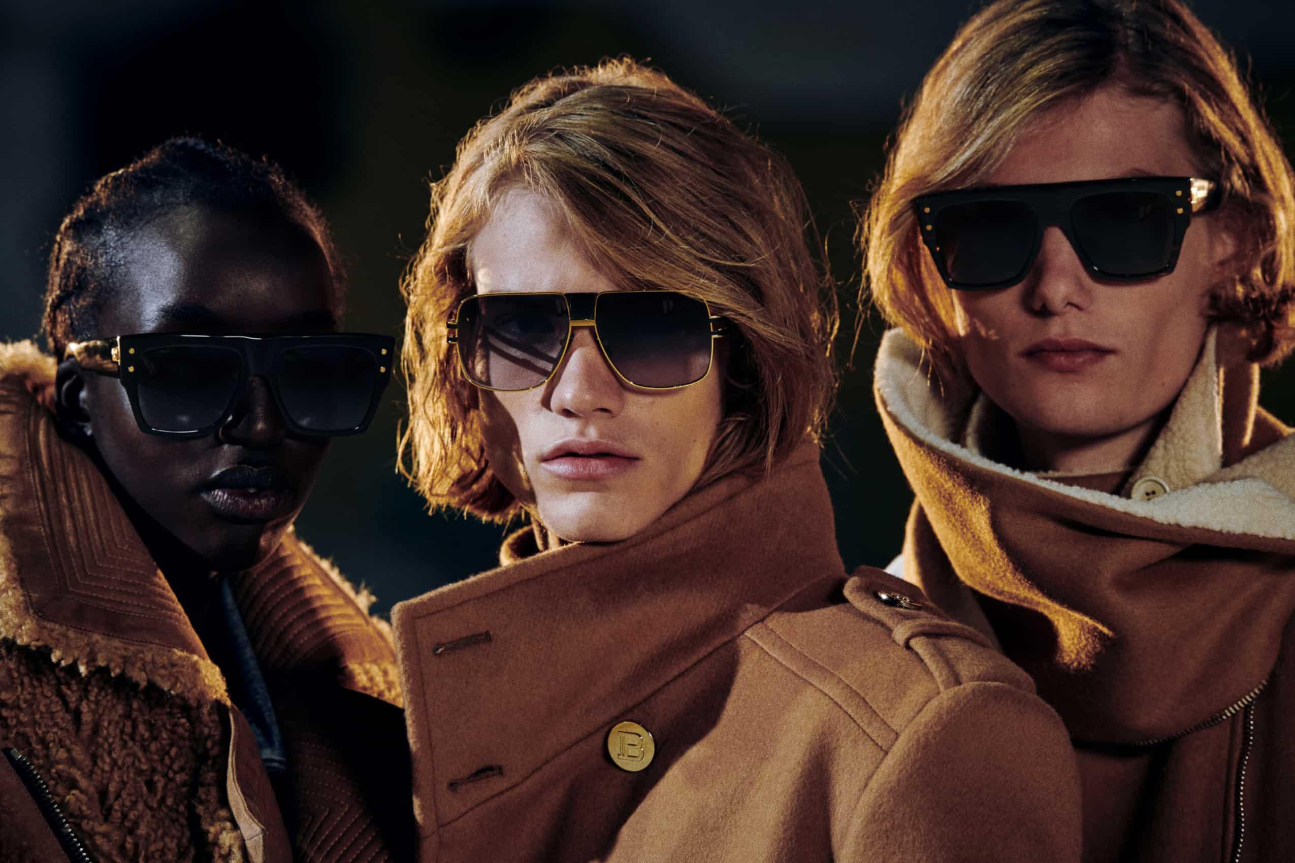 Balmain 联手瑞士眼镜创业品牌Akoni,共同开发眼镜系列