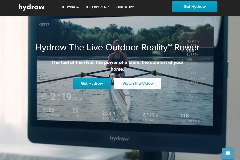 疫情期间销售增长400%,美国室内划艇机品牌 Hydrow完成 2500万美元新一轮融资