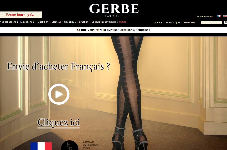 法国国宝级丝袜品牌 Gerbe 遇破产危机,中国大股东重庆天赐温泉集团提供30万欧元资金援助