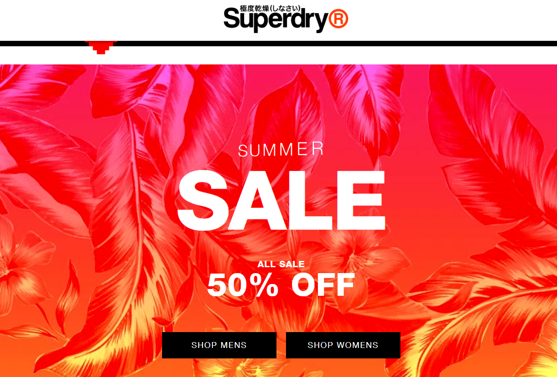 英国潮牌Superdry 退出中国合资公司并关闭所有门店,未来将重点发展线上与批发渠道业务
