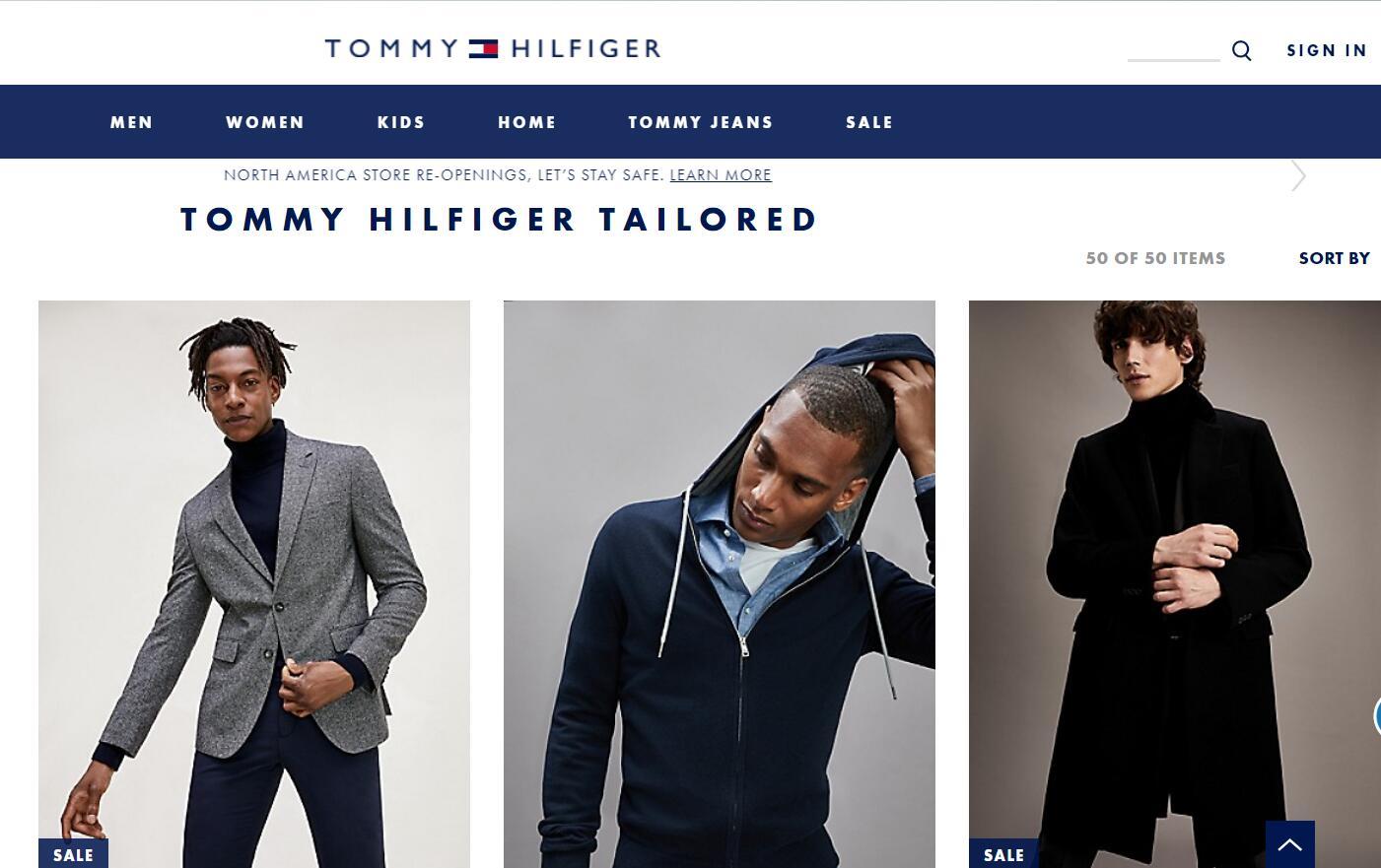 Tommy Hilfiger 男装定制系列与意大利定制服装企业 Lardini 签订授权协议