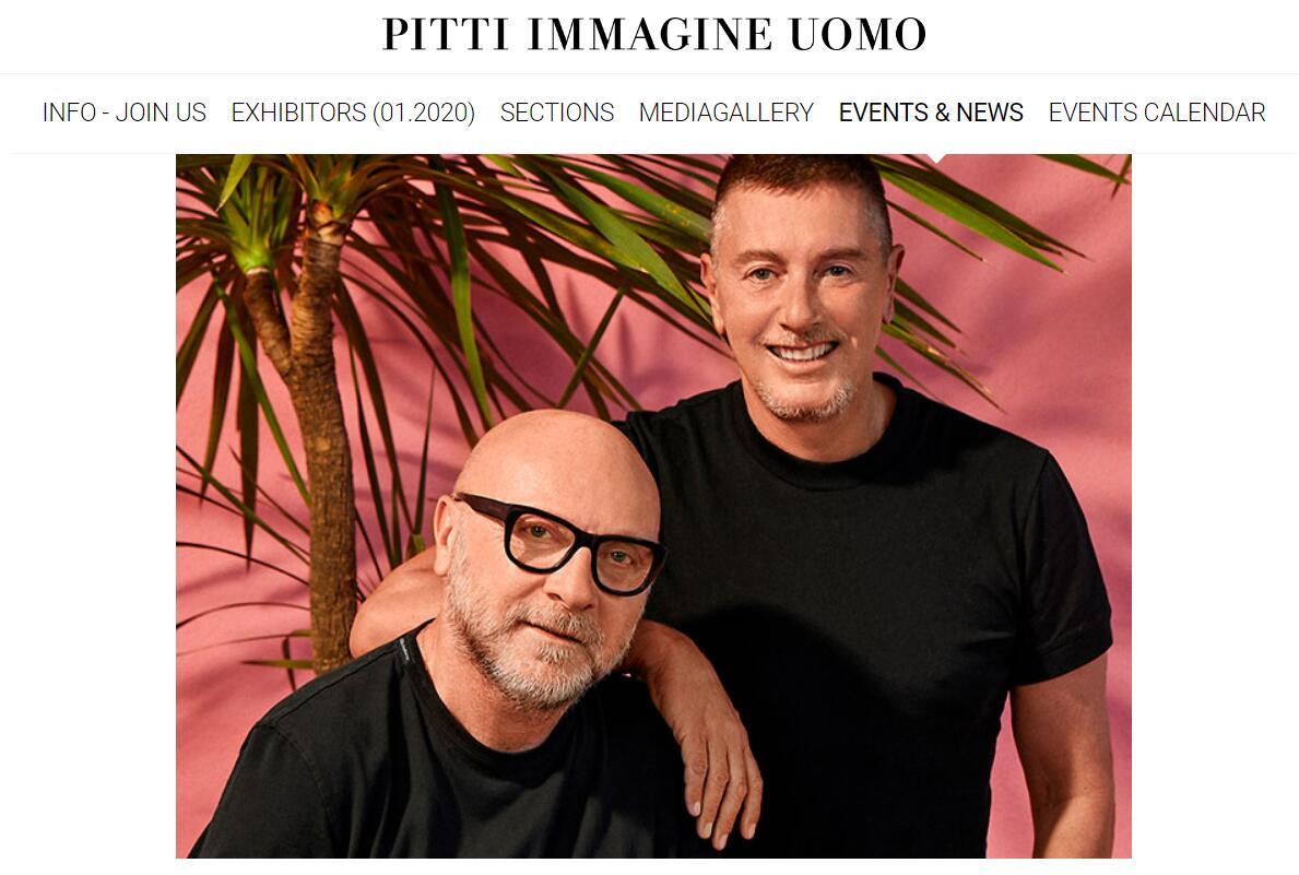 Pitti Uomo 主办方将于9月在佛罗伦萨举办线下特别活动