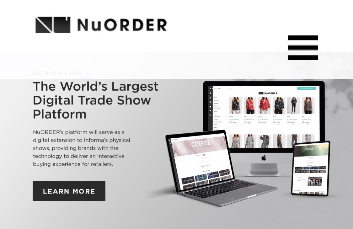 意大利国家时装商会与洛杉矶时尚数字贸易平台 NuOrder 合作支持新锐设计师品牌