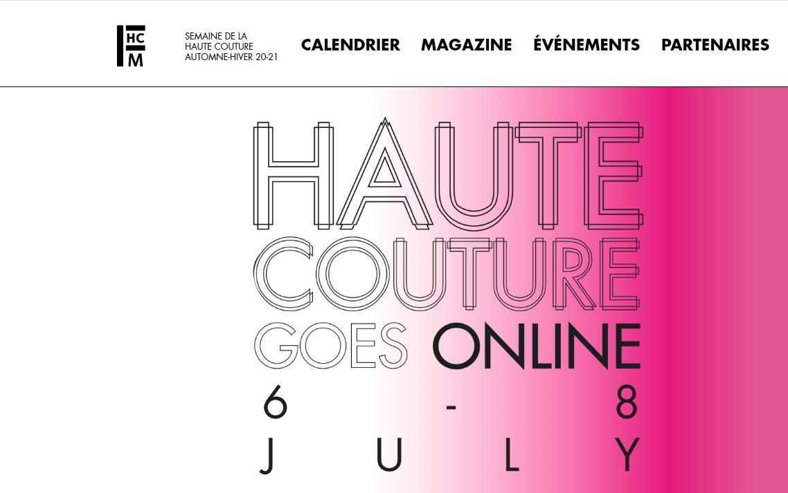巴黎时装周开启数字时代:2020/21秋冬巴黎高定时装周在线揭幕