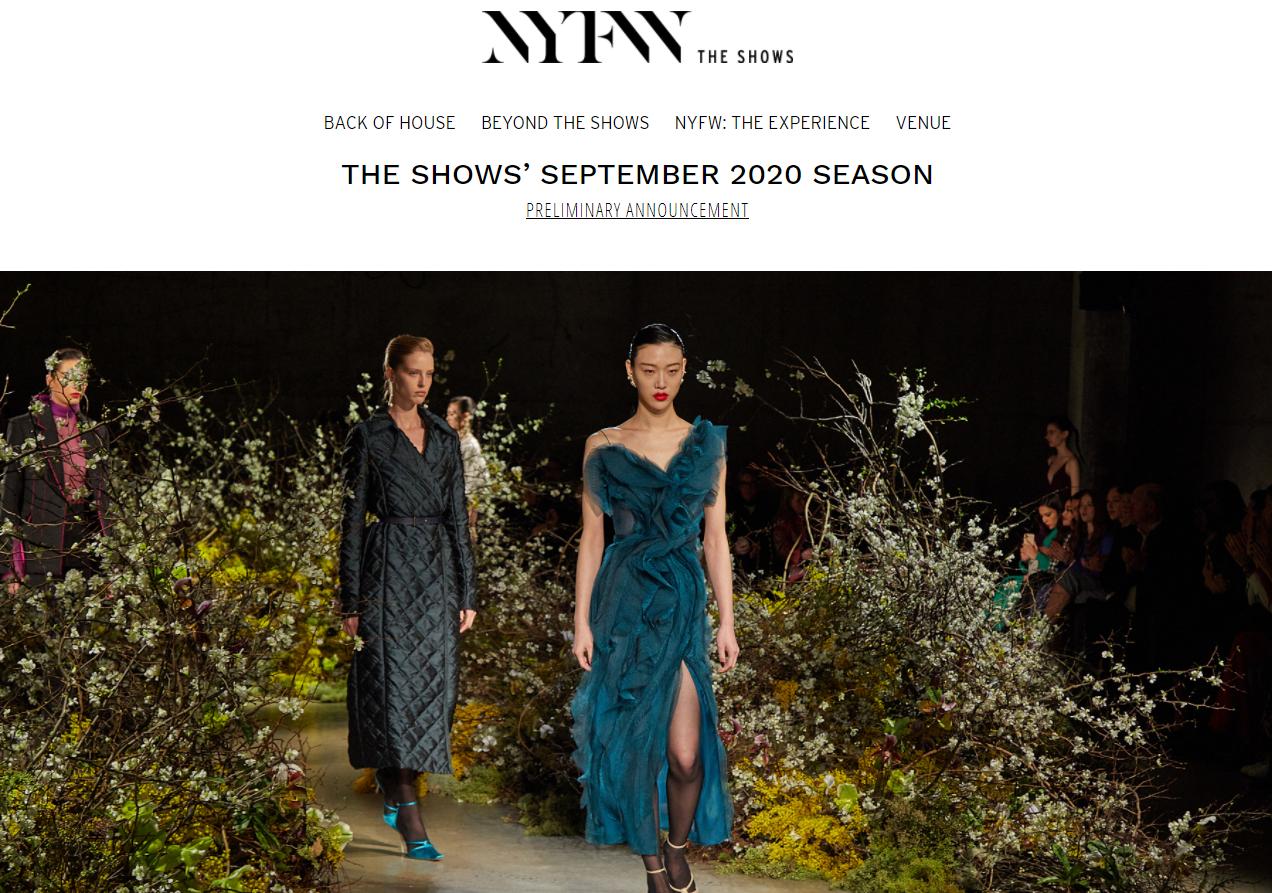 9月的纽约时装周怎么办?线上+线下联动,11家华裔设计师品牌参与
