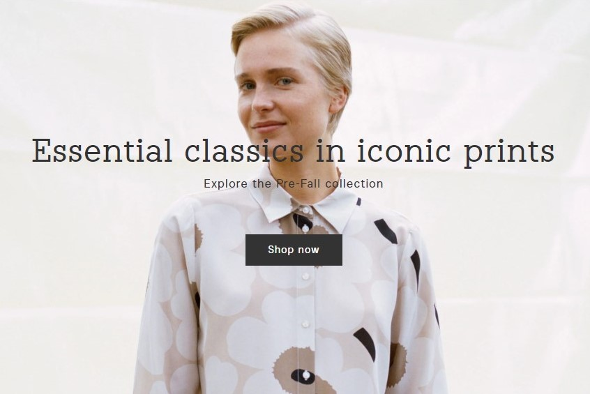 芬兰时尚品牌 Marimekko 最新季报:净销售额下降20%,将重组业务应对疫情